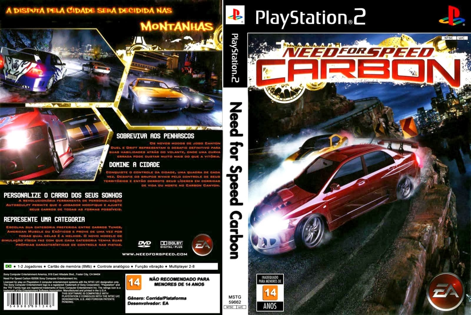 Need For Speed Carbon Europe Ps2 Iso Cdromance